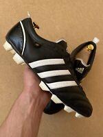 Adidas Telstar II TRX F6 Soccer Shoes Men's Size UK 12 FR 47 1/3 US 12.5 Black