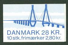 DENMARK HS38 (776) Faro Bridge Booklet, VF