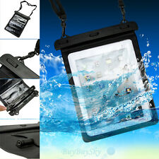 Waterproof Dry Bag Underwater Pouch Case Cover  For 10'' inch Tablet  iPad Mini