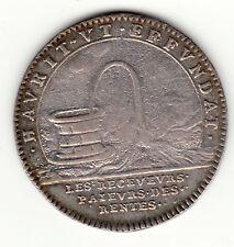 1692 silver jeton '' Les Receveurs Paieurs des Rentes '' Louis XIV