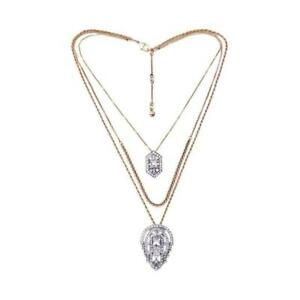 Chloe and Isabel Art Deco Convertible Pendant Necklace - N356 - NEW~ 5 in 1