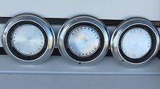 "Lot of 3 Vintage OLDSMOBILE 1968-70 15"" Hub Caps OLDS cutlass 442 toronado GM"