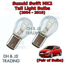 Suzuki Swift Tail Light Bulbs Pair of Rear Tail Light Bulb Lights MK2 (04-10)