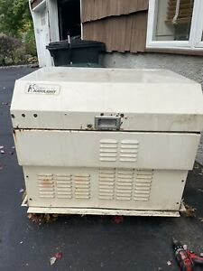 stand by generator with tranfer switch  needs new generator head on engine