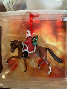 Breyer Galleries Christmas 2020 Grand Prix Santa Ornament