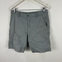 Lululemon Mens Chino Shorts 30 Grey Zip Closure Pockets