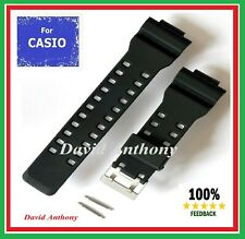 Fits CASIO G SHOCK GA-100 G8900 SUPERIOR FLEX RUBBER WATCH STRAP 16MM / 29MM A