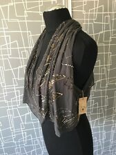 BNWT All Saints Silk Sechin Waist Coat Embellished Top 12 Shawl Kimono