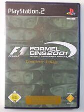 !!! PLAYSTATION PS2 SPIEL F1 Formel Eins 2001 Limited, gebraucht aber GUT !!!