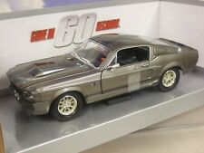 """GREENLIGHT 1/24 DIECAST 1967 SHELBY MUSTANG GT500 ELEANOR """"GONE IN 60 SECONDS"""""""