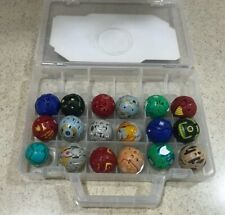Bakugan Battle Brawlers miscellaneous lot of 18 With CASE
