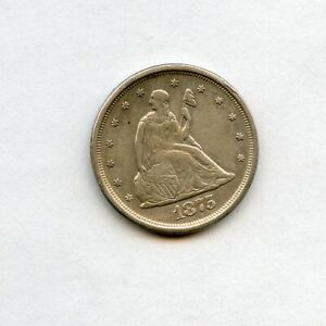 1875-S 20c Seated Liberty Twenty Cent Piece