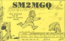 SM2MGQ. Klas Karlsson. Sorsele, Sweden 1985  AK.517
