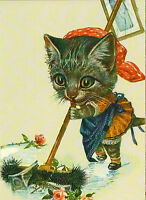 Arthur Thiele 'Cat '  modern Rare new postcard
