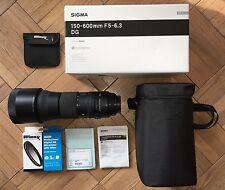 Sigma DG 150-600mm F/5-6.3 DG HSM APO RF OS Lens Canon
