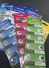 CELL BUTTON BATTERIES TIANQIU BLUEDOT PKCELL BATTERY FRESH FREE SHIPPING VALUE