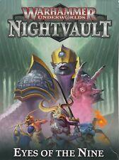 Warhammer Underworlds-nightvault-ojos de las nueve tarjetas de un solo