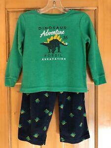 Boys 3T Carter's Dinosaur Pajamas