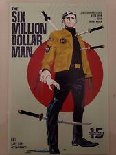 THE SIX MILLION DOLLAR MAN #1-5 (2019) DYNAMITE COMICS FULL COMPLETE SERIES! NM