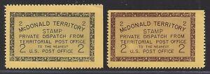 McDonald Territory Stamps