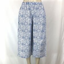 Indian Summer Block Print Boho Capri Pant COTTON 3