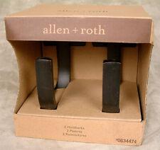 Allen + Roth ~ Set of 2 Aged Bronze Curtain Holdbacks #0634474