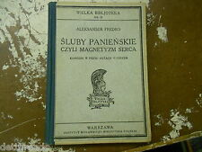 VINTAGE PLAYBOOK - 1930s- Sluby Panienskie - Czyli Magnetyzm Serca - Comedy Play