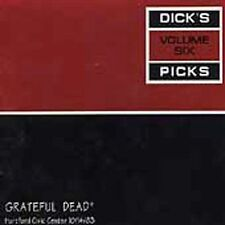 Grateful Dead : Dicks Picks, Vol. 6: Hartford Civic Cent CD