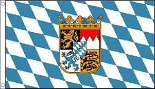 BAVARIA FLAG 5' x 3' Bavarian Crest Germany German Beer Festival Oktoberfest