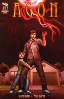 Agon #1 Scott Burn Comic Book - Zenescope