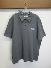 NWOT Mens Sanitas Brewing Polo by American Giant Gray 100% Cotton Owl Size XL