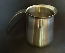 Krups 18//8 Stainless Steel 12 oz. Milk Frothing Pitcher Creamer with Handle