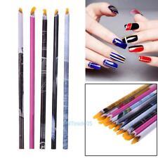 5pcs Art Gems Tool Set Wax Resin Rhinestones Crystal Pick Up Pencil Pen Nail Art