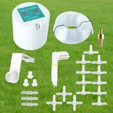 Automatic Drip Irrigation Kit Plant Self Watering Can Timer System Indoor Garden