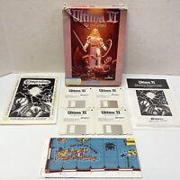 "Ultima VI The False Prophet IBM/PC Big Box Game 3.5"" Floppy Disc"
