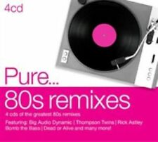 Various Pure 80 S Remixes 4 CD Sony Music Catalog