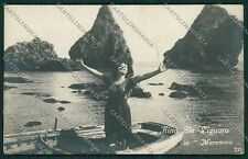 Grosseto Maremma Rina de Liguoro Foto cartolina QQ3487