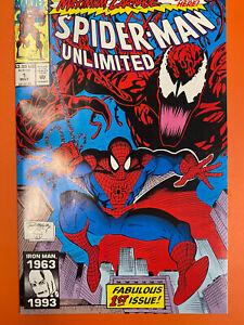 Spider-Man Unlimited #1 Maximum Carnage Venom Marvel 1993 NM+, 9.6+