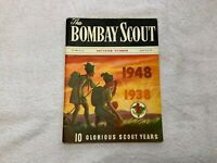 1938-1948 10 Year Anniversary Bombay Scout Souvenir Book India Scouting