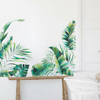 Tropical Leaves Green Plant Wall Stickers Pvc Self Adhesive Decal Art Home Decor