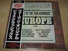 NORMAN GRANZ Jazz Philharmonic EUROPE SEALED Japan LP Stan Getz Dizzy Gillespie