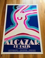 Original Vintage French Poster ALCAZAR PARIS 1977