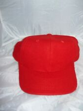 24 x  Baseball or Sports Caps Red, Printers, School,Work Advertising  New