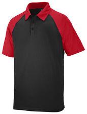 Augusta Sportswear Men's Three Button Short Sleeve Sport Polo Shirt. 5404