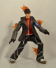 "2005 Snowboarding Human Torch 6.5"" Toy Biz Action Figure Marvel Fantastic 4 Four"