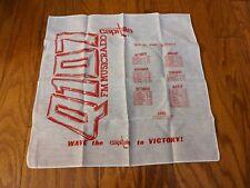 1979-80 Washington Capitals Schedule Stadium Give Away Bandanna Q107 The Wave