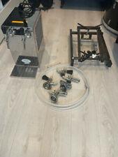 More details for beer dispenser-lindr kontakt 70 2-taps-cooling tap-beer dispenser + fittings