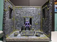 "Custom 1 /12 Temple Ruins Diorama For 6"" 7"" FIGURES Marvel Legends,Neca,Mezco"