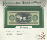 World Banknotes Hungary 10 Forint 1969 UNC P 168d  A403  Low serial 010753