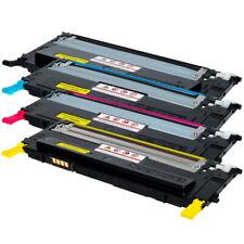4 Toner für Samsung CLP315 CLX3175 CLP310 CLX3175FN CLX3170FN C/M/Y/K